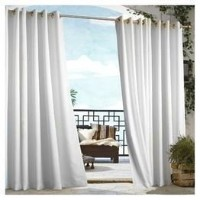 Outdoor decor Gazebo Indoor Outdoor Window Panels, 50 by 96, White by Outdoor Decor