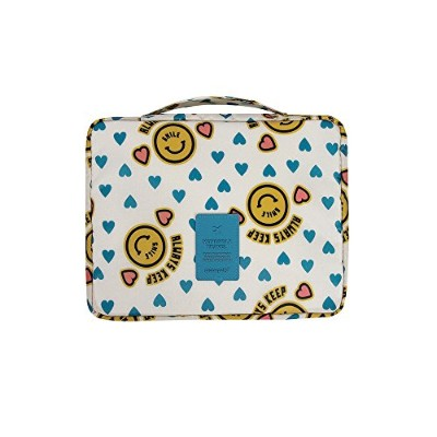 【MONOPOLY 公式】 MONOPOLY MERRYGRIN MULTI POUCH smiley yellow/L マルチポーチ 多用度ポーチ 旅行ポーチ 小物入れ 防水処理 (smiley...