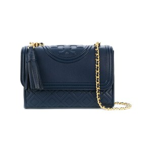 Tory Burch Fleming small convertible shoulder bag - ブルー