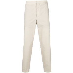 Barena cropped straight leg trousers - ヌード&ナチュラル