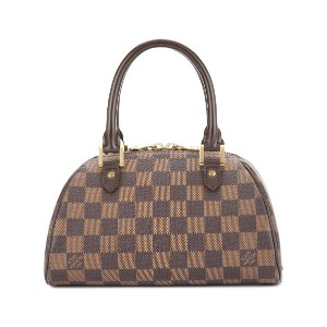 LOUIS VUITTON PRE-OWNED Rivera ハンドバッグ ミニ - ブラウン