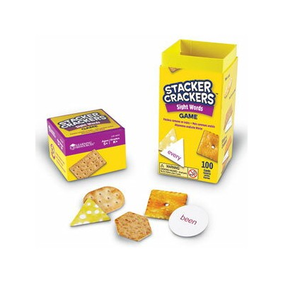 Learning Resources Stacker Crackers(R) Sight Words Game クラッカータワー サイトワード LER 4643