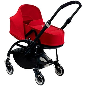 Bugaboo Bee3 Stroller & Bassinet - Red - Red - Black by Bugaboo