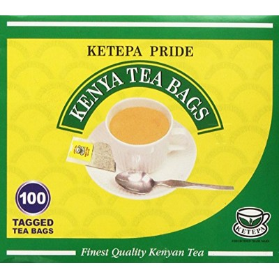 Pure Authentic Kenyan KETEPA PRIDE Kenyan Tea Bags- Kenya Tea