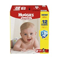Huggies Snug & Dry Diapers, Size 2, 246 Count (One Month Supply) by Huggies