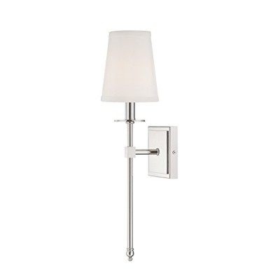 Savoy House 9–302–1-322モンロー1-light Sconce in Warm真鍮 9-302-1-109 1