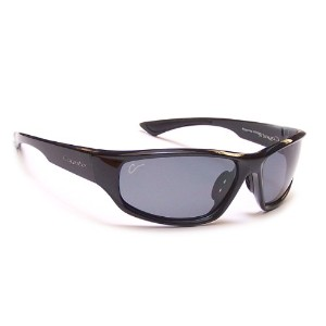 Coyote Eyewear 680562036916 Baja Black - Gray, Performance Polarized Sunglasses