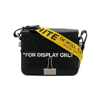 Off-White For Display Only ショルダーバッグ - ブラック