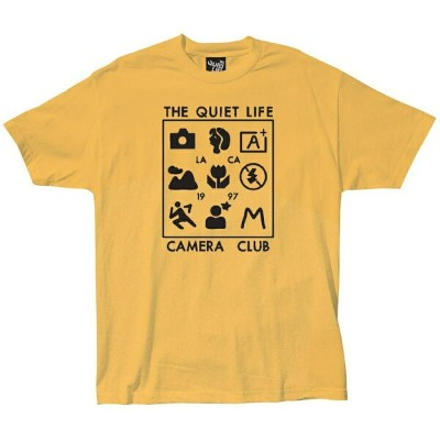 THE QUIET LIFE ザ クワイエット ライフ / Tシャツ 半袖 / SETTINGS TEE - GOLD / 18SPD1-1192-GOLD / メンズ 【t06】