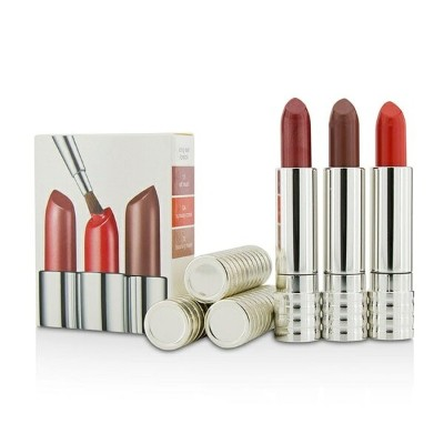CliniqueLong Last Lipstick Trio - #0A Runway Coral #12 Blushing nude #15 All HeartクリニークLong Last...