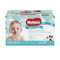 HUGGIES One & Done Refreshing Baby Wipes, Refill, 648 Count by Huggies