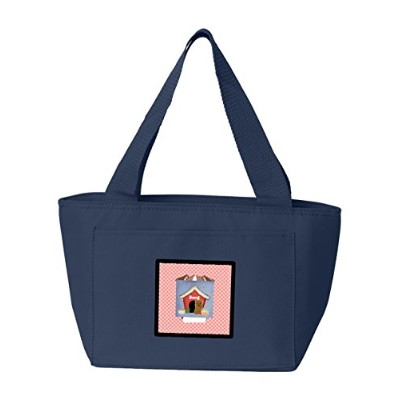Caroline's Treasures BB2814NA-8808 Dog House Collection Glen of Imal Tan Insulated Lunch Bag, Large...