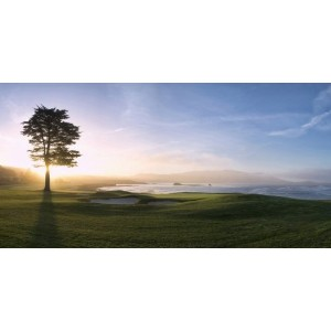 Biggies GM-PBH-54 Golf Murals - Pebble Beach - Medium