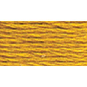 DMC 117-3852 Mouline Stranded Cotton Six Strand Embroidery Floss Thread, Very Dark Straw, 8.7-Yard...