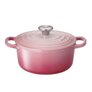 LE CREUSET/ル・クルーゼ シグニチャー ココット・ロンド 18cm ブーケピンク