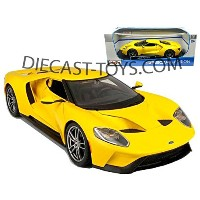 MAISTO-31384 2017 FORD GT 1/18 ALL YELLOW [並行輸入品]