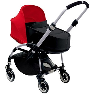 Bugaboo Bee3 Stroller & Bassinet - Red - Black - Aluminum by Bugaboo