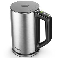 Electric Kettle、温度制御ケトル、ダブル壁Cool Touch水ケトル,ステンレススチールwith LED表示から90 & # x2109 ; -212 & # x2109 ;、BPA...