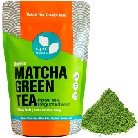 Matcha Green Tea Powder - Best for Smoothies, Lattes, Drinks, Baking, Cooking, Desserts - Energy...