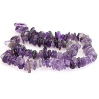 AAA Natural Amethyst Gemstones Round Chips Beads Free-form Loose Beads ~10x8mm beads for Jewelry...