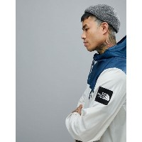 The North Face 1990 Mountain Jacket Hooded In Vintage White/Blue