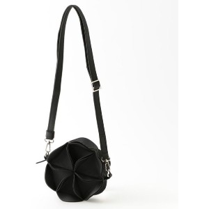 【ル ジュール(LE JOUR)】 【GOOD JOB】BLOSSOM SHOULDER BAG ブラック