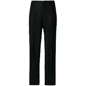 Forte Forte cropped trousers - ブラック