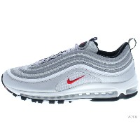 NIKE AIR MAX 97 OG QS 884421-001 metallic silver/varsity red エア マックス 未使用品【中古】