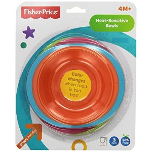 Fisher-Price Heat Sensitive Bowls by Fisher-Price
