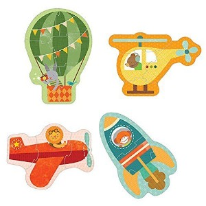 Petit Collage Beginner Puzzle, By Air Model: BP-BY AIR by Toys & Child