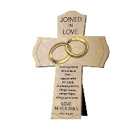 Lighthouse Christian Products Joined in Love Wall/Desktop Cross, 7 1/2 x 10 1/4 by Lighthouse...