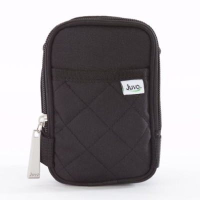 Juvo Products Crutch Caddy with 2 Pockets for Hands-Free Storage, 8.2 x 1.9 x 5 Inches, Black ...