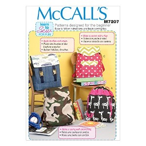 McCall's Patterns M7207 Backpacks Sewing Template, One Size Only by McCall's Patterns