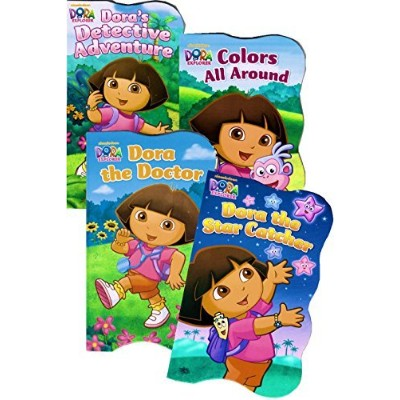 Dora the Explorer Board Books - Set of Four by Nickelodeon
