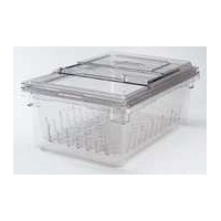 Cambro 18268clrkit135Camwear Colanderキットwith Colander、フードボックス、と蓋