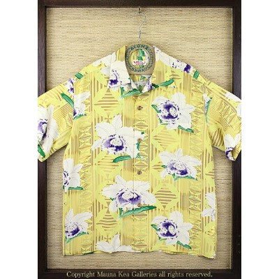 "SUN SURFRAYON S/S""ORCHID & TAPA""Style No.SS36024"