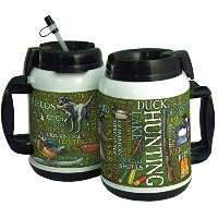 American Expedition Tumbler with Duck Hunting Word Design, 64 oz by American Expedition
