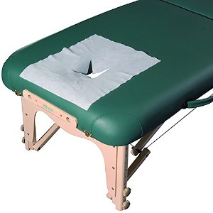 Mt Massage Disposable Breathing Space Cover for Massage Table by Mt Massage Tables