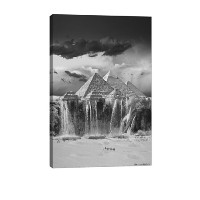 """iCanvasART tby5Camel Wash駅キャンバスプリントby Thomas Barbey 26"""" x 18"""" TBY5-1PC6-26x18"""