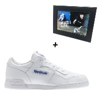 SHINee Taemin x Reebok Timeless Classic Workout Plus by Taemin (White) + Photo
