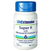 Life Extension Super K with Advanced K2 Complex 90 x 2 by LifeExtension