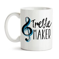 11オンスコーヒーマグby Groovy Giftables – Treble Maker 001