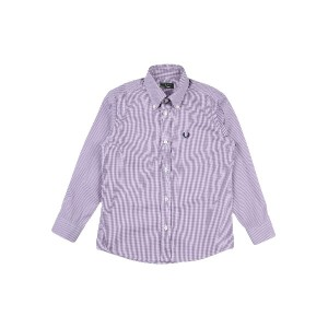 FRED PERRY シャツ パープル