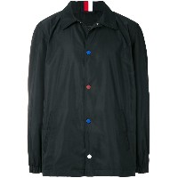 Tommy Hilfiger contrast button jacket - ブルー