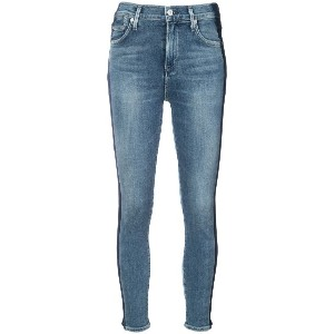 Citizens Of Humanity skinny side stripe jeans - ブルー