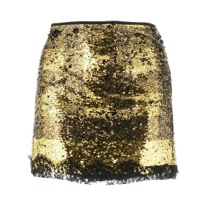 Redemption sequined mini skirt - イエロー&オレンジ
