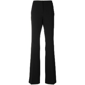 Moschino flared tailored trousers - ブラック