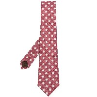 Church's polka dot tie - レッド