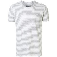 Woolrich ボーダーTシャツ - グレー