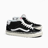 VANS バンズ オールドスクール ミッドカット MID SKOOL 37 DX (ANAHEIM FACTORY)BLACK/WHITE VN0A3MUOQF6 OLD SKOOL ミッドスクール...